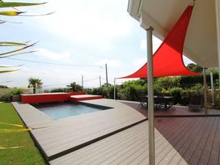 Giardino moderno di KAEL Createur de jardins Moderno