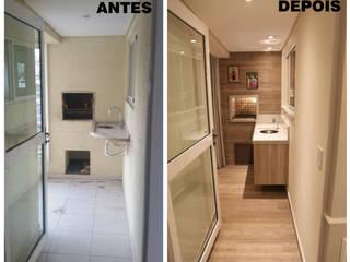 Suelen Kuss Arquitetura e Interiores Casas estilo moderno: ideas, arquitectura e imágenes Tablero DM Acabado en madera
