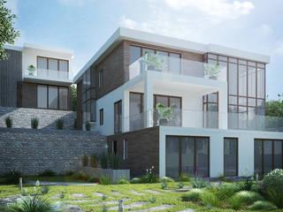 Casas de estilo  por VITTA-GROUP
