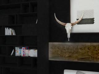 Mieszkanie, Starogard Gdański: styl , w kategorii Salon zaprojektowany przez Laura Zubel Architekt Wnętrz