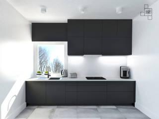 Mieszkanie, Starogard Gdański: styl , w kategorii Kuchnia zaprojektowany przez Laura Zubel Architekt Wnętrz