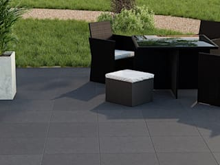 PorcelPave Outdoor Porcelain Tiles od The London Tile Co. Nowoczesny