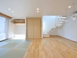 House Y1 和風デザインの リビング の 一級建築士事務所 ima建築設計室 和風