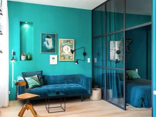Ruang Keluarga Gaya Eklektik Oleh Insides Eklektik