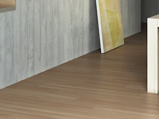 Peldaños Gran Formato- Exagres Serie Kioto Paredes y suelos de estilo rústico de Exagres Rústico