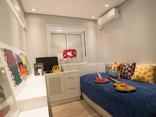 Dormitorios infantiles modernos: de Graça Brenner Arquitetura e Interiores Moderno