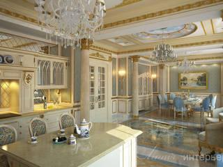 ДИЗАЙН ЗАГОРОДНОГО ДОМА В КЛАССИЧЕСКОМ СТИЛЕ Кухня в классическом стиле от Студия дизайна 'Линия интерьера' Классический