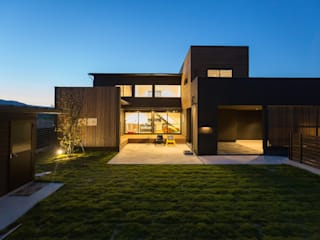 TKD-ARCHITECT Modern houses لکڑی Black
