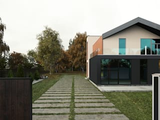 Minimalist houses by Мастерская Grynevich Dmitriy Minimalist