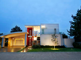 Houses by arketipo-taller de arquitectura, Modern