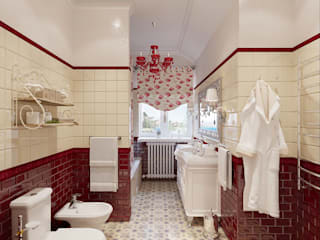 Country style bathroom by Студия дизайна Interior Design IDEAS Country