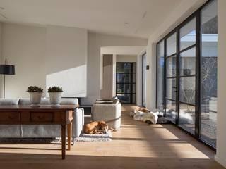 Van der Schoot Architecten bv BNA Salon moderne Bois Effet bois