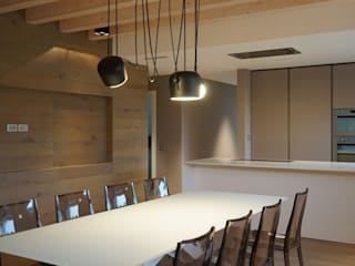Modern Dining Room by Andrea Gaio Design Modern