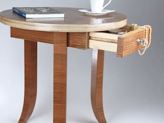 Coffee table / bedside table Meble Autorskie Jurkowski DormitoriosMesillas de noche Madera Beige