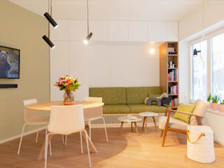 Living room by studio k interieur en landschapsarchitecten