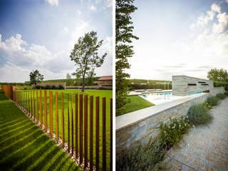 Garden Le Monde Jardins modernos por Alessandro Isola Ltd Moderno