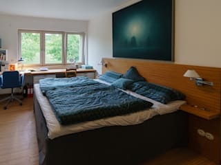 Will GmbH Modern style bedroom Wood White