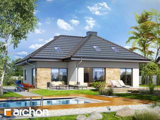 Projekt: Dom w tawułach (G2) od ARCHON+ PROJEKTY DOMÓW