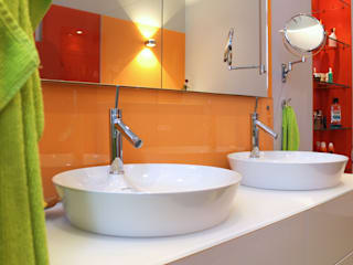 Will GmbH Eclectic style bathroom Glass Orange