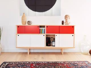 Neuvonfrisch - Möbel und Accessoires ห้องนั่งเล่นตู้เก็บของและชั้นเก็บของ ไม้ Multicolored