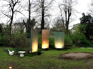 2013 Interni Botanical garden Brera Accademy Milano: Giardino in stile in stile Moderno di Mauro Mori