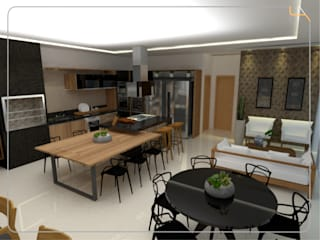 Modern style kitchen by Humanize Arquitetura Modern