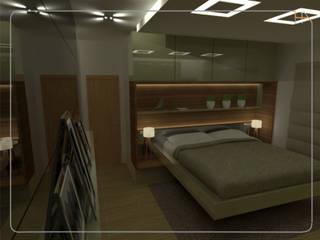Humanize Arquitetura モダンスタイルの寝室