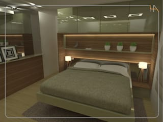 Modern style bedroom by Humanize Arquitetura Modern
