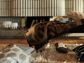 Connox Living roomAccessories & decoration Wool Brown