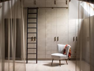 Richmond - Master Dressing Room Modern Giyinme Odası Roselind Wilson Design Modern