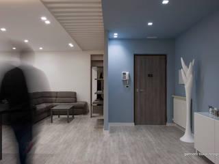 モダンスタイルの 玄関&廊下&階段 の maps_architetti モダン