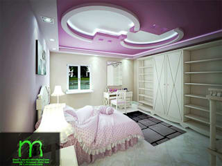 bedroom من EL Mazen For Finishes and Trims كلاسيكي