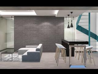 Офисы и магазины в стиле минимализм от Indigo Arquitectos Минимализм