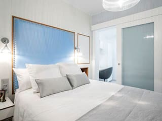 GESTION INTEGRAL DE PROYECTOS DEL NOROESTE S.L. Camera da letto in stile scandinavo
