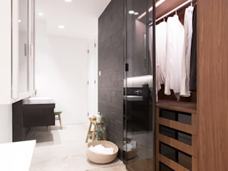 Dress up and Make up:  Bathroom by Sensearchitects Limited