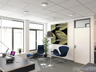 Modern office buildings by planungsdetail.de GmbH Modern