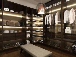 Closets de estilo minimalista de MONOstudio Minimalista
