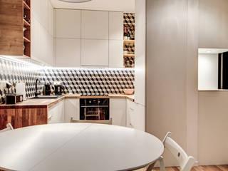 現代廚房設計點子、靈感&圖片 根據 Perfect Space 現代風