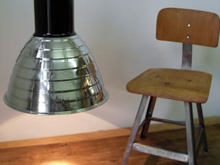 """""""VACHA DARK ICE"""" Industriedesign Fabrik Lampe Loft Lounge Office:  Bars & Clubs von Lux-Est"""