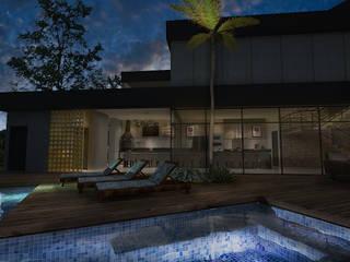 modern  by adnssouza arquitetura e interiores, Modern