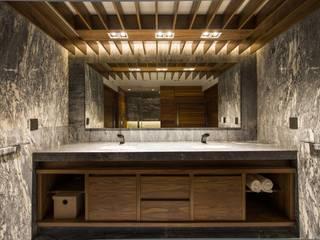 PROJECT WAS DELETED!: Baños de estilo  por Art.chitecture, Taller de Arquitectura e Interiorismo 📍 Cancún, México.