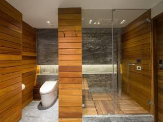 Nowoczesna łazienka od Art.chitecture, Taller de Arquitectura e Interiorismo 📍 Cancún, México. Nowoczesny
