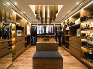 Art.chitecture, Taller de Arquitectura e Interiorismo 📍 Cancún, México. Modern Dressing Room Wood effect