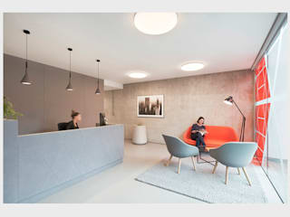 Design concept for Legal offices, Manchester. CHALKSPACE Espaces de bureaux modernes