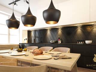 Nowoczesne mieszkanie - Warszawa: styl , w kategorii  zaprojektowany przez Macan Design Krystian Suchenia
