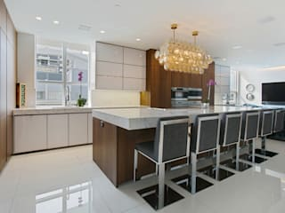 Collins Avenue Project Kitchen and Bathrooms Modern Kitchen by ALNO North America Modern