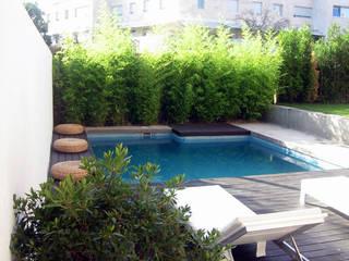 Jardín Contemporáneo: Jardines de estilo  de TERESA JARA - ESTUDIO DE PAISAJISMO