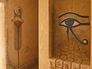"""проект """"Египет"""" от Художественная мастерская 'Оникс' Колониальный"""