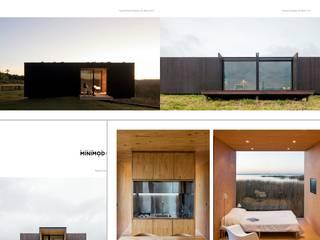 Casas modernas de Exellentworkers Moderno