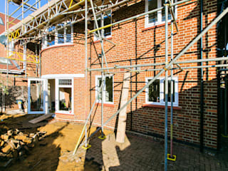 back of the house - before:   by POWER 2 BUILD LTD